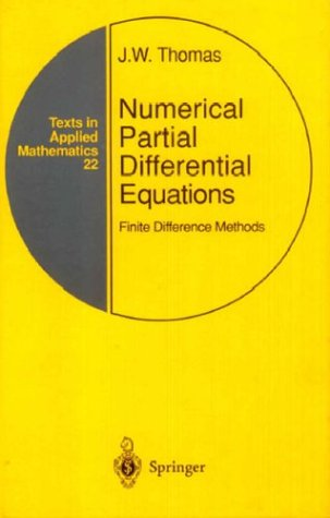 Numerical Partial Differential Equations Finite Difference Methods  1995 edition cover