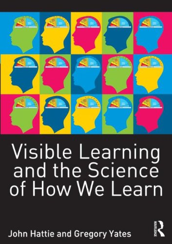 Visible Learning and the Science of How We Learn   2014 edition cover