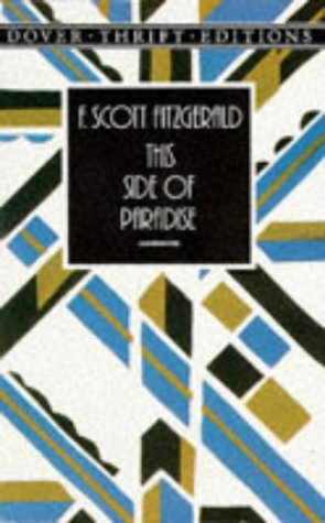 This Side of Paradise   1996 (Reprint) 9780486289991 Front Cover