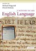 History of the English Language   2008 9780521717991 Front Cover