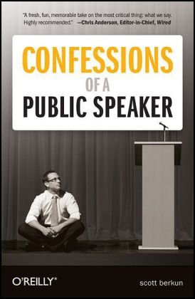 Confessions of a Public Speaker   2009 edition cover