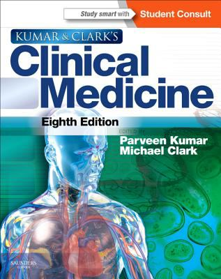 Kumar and Clark's Clinical Medicine With STUDENTCONSULT Online Access 8th 2012 edition cover