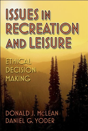 Issues in Recreation and Leisure Ethical Decision Making  2005 edition cover