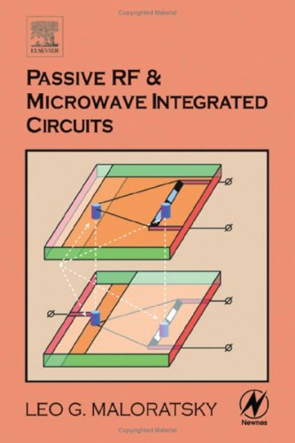 Passive RF and Microwave Integrated Circuits   2003 9780750676991 Front Cover