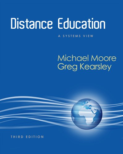 Distance Education A Systems View of Online Learning 3rd 2012 9781111520991 Front Cover