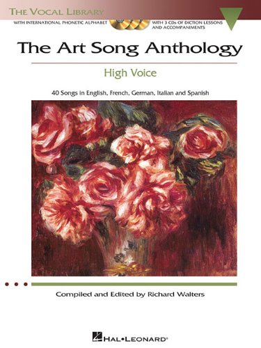 Art Song Anthology - High Voice 40 Songs in English, French, Germany, Italian and Spanish N/A 9781423483991 Front Cover