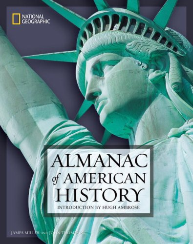 National Geographic Almanac of American History   2006 edition cover