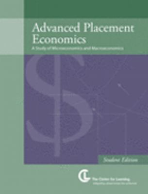 Advanced Placement Economics : Curriculum Unit  2006 9781560777991 Front Cover