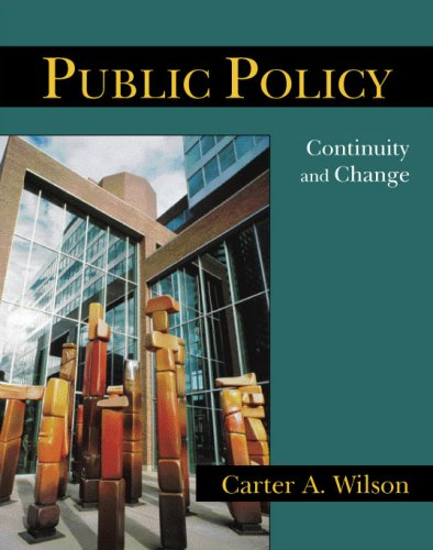 Public Policy Continuity and Change N/A edition cover