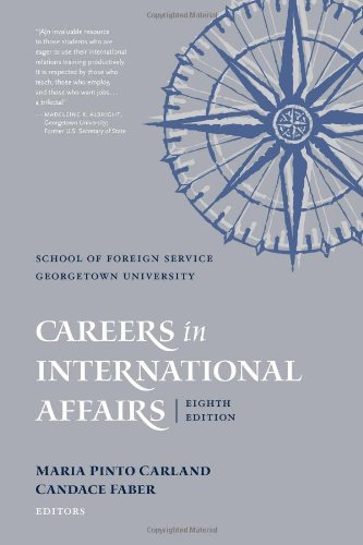 Careers in International Affairs  8th 2008 (Revised) edition cover