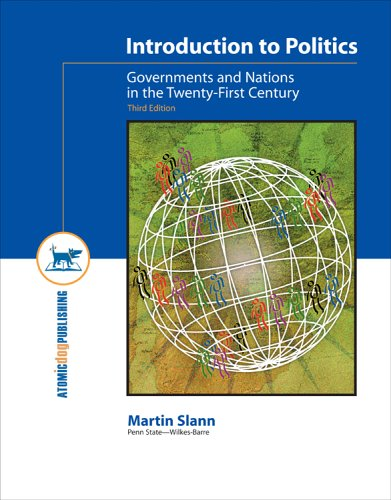 Introduction to Politics Governments and Nations in the Twenty-First Century 3rd 2005 edition cover