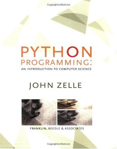 Python Programming An Introduction to Computer Science  2003 9781887902991 Front Cover