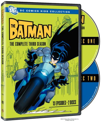 The Batman - The Complete Third Season (DC Comics Kids Collection) System.Collections.Generic.List`1[System.String] artwork