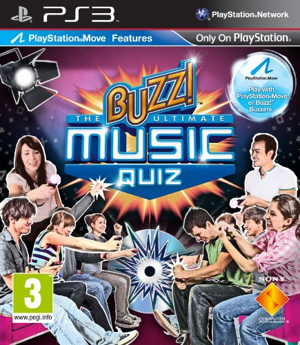 Buzz! The Ultimate Music Quiz (Solus) /PS3 PlayStation 3 artwork
