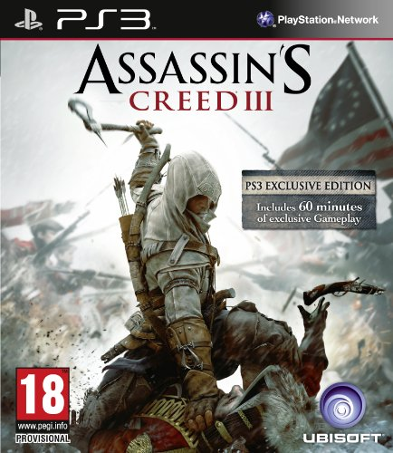 Assassin's Creed III (3) /PS3 PlayStation 3 artwork