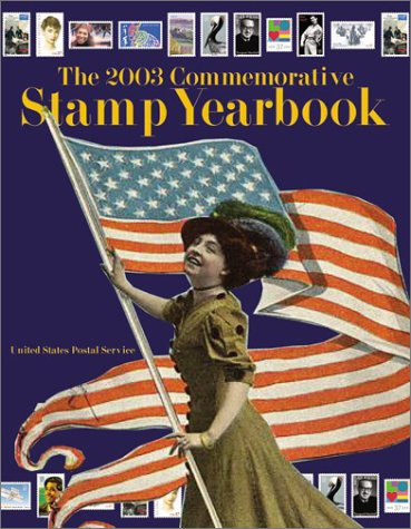 2003 Commemorative Stamp Yearbook  N/A 9780060198992 Front Cover
