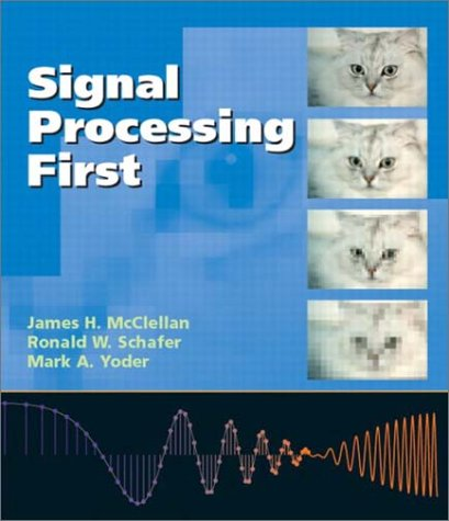 Signal Processing First  2nd 2003 edition cover