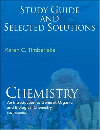 Study Guide with Selected Solutions  10th 2009 edition cover