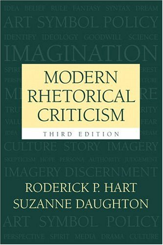 Modern Rhetorical Criticism  3rd 2005 (Revised) edition cover