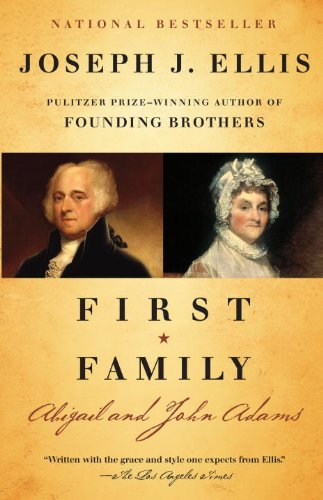 First Family Abigail and John Adams  2011 edition cover