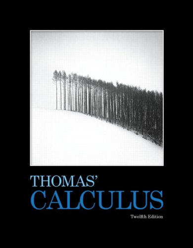 Thomas' Calculus  12th 2010 edition cover