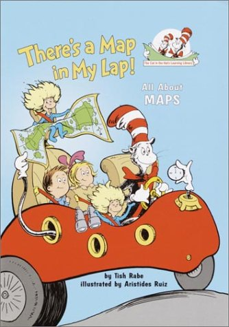 There's a Map in My Lap! All about Maps  2002 edition cover