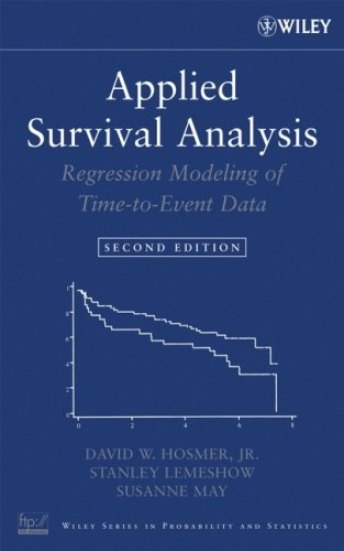 Applied Survival Analysis Regression Modeling of Time to Event Data 2nd 2008 edition cover