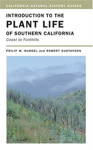 Introduction to the Plant Life of Southern California Coast to Foothills  2005 edition cover