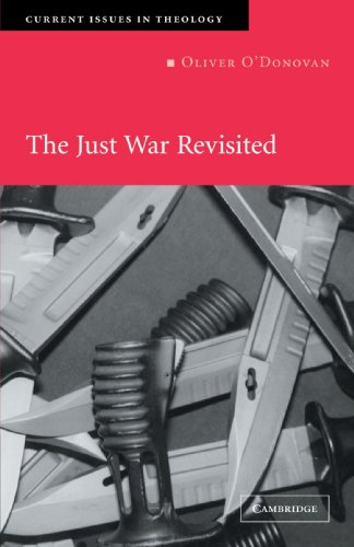 Just War Revisited   2003 edition cover