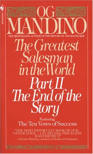 Greatest Salesman in the World, Part II The End of the Story  1988 9780553276992 Front Cover