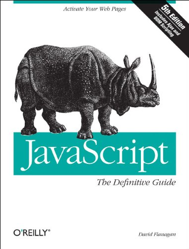 JavaScript  5th 2006 (Revised) edition cover