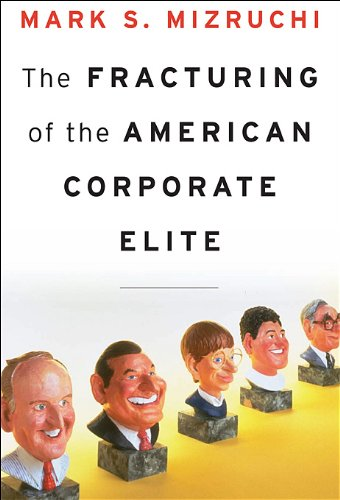 Fracturing of the American Corporate Elite  N/A edition cover