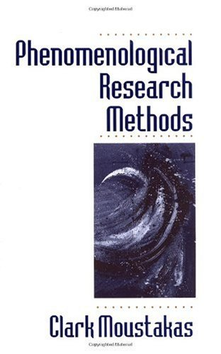 Phenomenological Research Methods   1994 edition cover