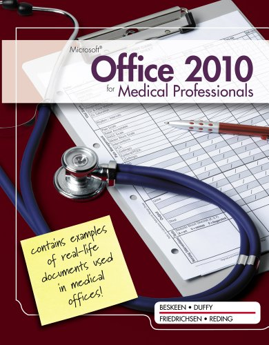 Microsoft� Office 2010 for Medical Professionals   2012 edition cover