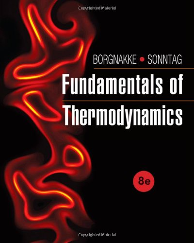 Fundamentals of Thermodynamics: 8th 2013 9781118131992 Front Cover