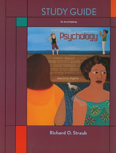 Exploring Psychology  8th 2011 (Revised) edition cover