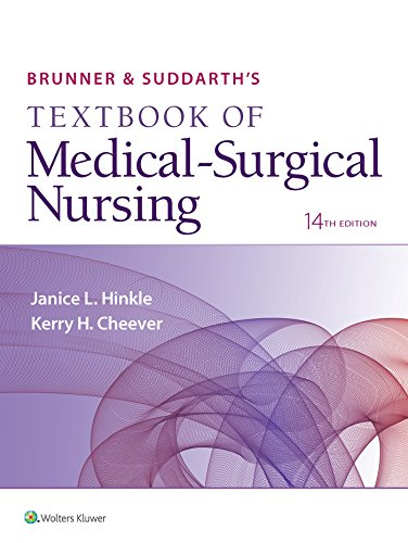 Brunner and Suddarth's Textbook of Medical-Surgical Nursing  14th 2018 (Revised) 9781496347992 Front Cover