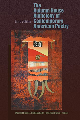 Autumn House Anthology of Contemporary American Poetry  3rd 2015 edition cover
