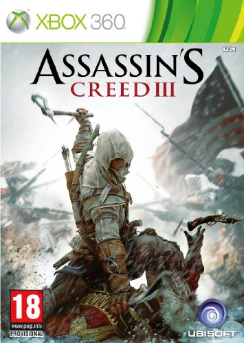 Assassin's Creed 3 (Xbox 360)(2CD) Xbox 360 artwork