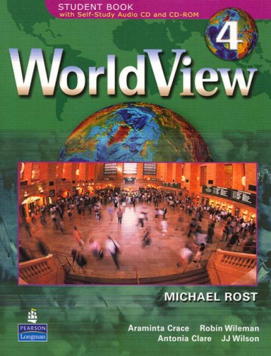 WorldView 4 with Self-Study Audio CD and CD-ROM   2007 edition cover