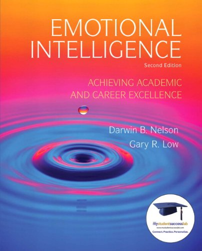 Emotional Intelligence Achieving Academic and Career Excellence in College and in Life 2nd 2011 edition cover