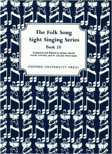 Folk Song Sight Singing Book 4  N/A 9780193851993 Front Cover