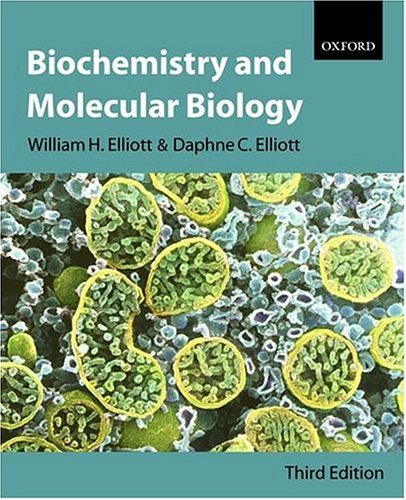 Biochemistry and Molecular Biology  3rd 2004 (Revised) edition cover
