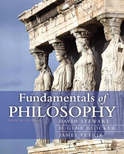 Fundamentals of Philosophy  8th 2013 (Revised) edition cover