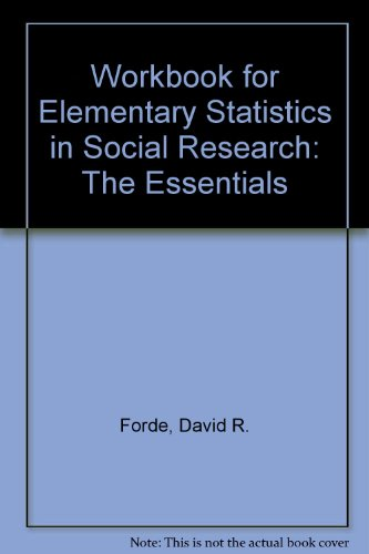 ELEM.STAT.IN SOC.RESRCH.:ESSEN N/A edition cover