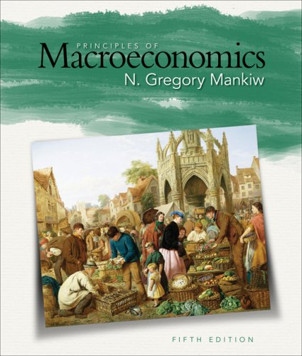 Principles of Macroeconomics  5th 2009 edition cover