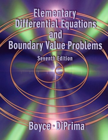 Elementary Differential Equations and Boundary Value Problems  7th 2001 (Revised) 9780471319993 Front Cover