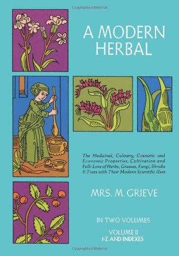 Modern Herbal  Reprint edition cover