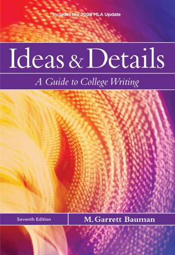 Ideas and Details 2009  7th 2010 (Revised) edition cover