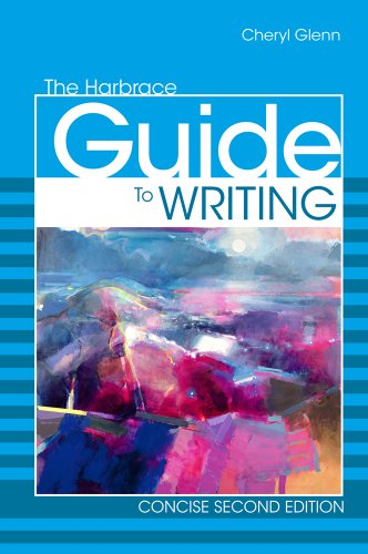 Harbrace Guide to Writing, Concise  2nd 2012 edition cover